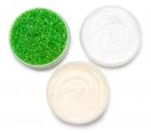 Cosmetische lichaamsverzorgingsproducten — Stockfoto
