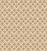 Seamless ethnic pattern with figures like Native Americans tipi — Vecteur