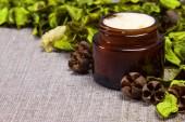 Natuurlijke huid zorg crème — Stockfoto