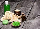 Wellness- und Verwöhn-Produkte und Zubehör — Stockfoto