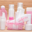 Big set of cosmetic products for skincare — Stock Photo #78994190