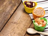 Gesunder Essenhintergrund — Stockfoto