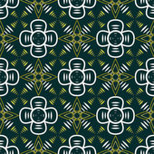 Abstract seamless geometric contrasty pattern — Stockvector