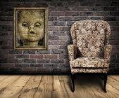 Spooky room. — Stock Photo