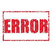 Error. — Stock Photo