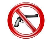 No hay rastro de armas. — Foto de Stock
