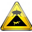 UFO warning. — Stock fotografie #73112401