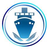 Shipping icon. — Stock Photo