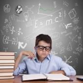 Barn i skolan — Stockfoto