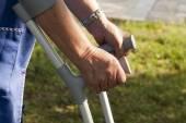 Crutches — Stock Photo