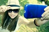 Selfie — ストック写真