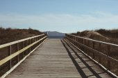 Boardwalk to the beach — Stock Photo