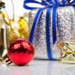 Christmas decorations background — Stock Photo #74550855