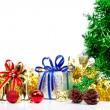 Christmas decorations background — Stock Photo #74550773