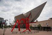 Modern art and modern architecture in Denver — Stock fotografie