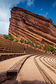 Red Rocks Amphitheater in Denver — Stock Photo
