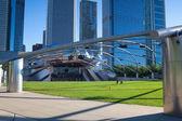 Jay Pritzker Pavilion in Chicago — 图库照片