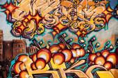 Graffiti captured on a San Francisco — Stock Photo