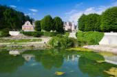 NOVE HRADY-CZECH REPUBLIC: JULY 6,2014:The unique Rococo mantion — Stock Photo