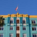 Постер, плакат: The famous Georgian Hotel in Santa Monica