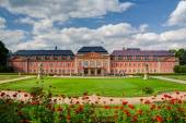 The restored chateau in Dobris — Stock Photo