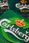ENGLAND,LONDON - November 11, 2014:The Carlsberg is a Danish bre — Foto Stock