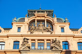 Renovated luxury historic house in Prague — Stock Photo