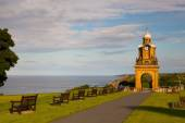 Scarborough,England July 14,2012: Holbeck Clock Tower was purcha — Stock Photo