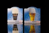 Beermats from Erdinger beer. — Stock Photo