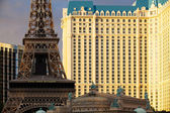 Paris Las Vegas hotel and casino — Stock Photo
