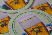 Beermats from Drachselsrieder beer — Stock Photo