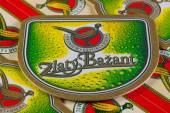 Berrmats from Golden Pheasant beer — Stock Photo