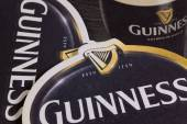 ENGLAND,LONDON - November 11, 2014: Beermats from Guinness beer. — Stock Photo