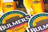 ENGLAND,LONDON - November 11, 2014: Beermats from Bulmers Cider. — Stock Photo