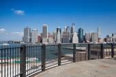 Manhattan skyline - New York, NYC — Stock Photo