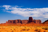 Iconic peaks of rock formations in the Navajo Park of Monument V — Stock Photo