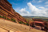 Famous Red Rocks Amphitheater in Morrison. — Stock Photo