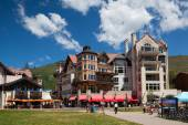 The Town of Vail is a Home Rule Municipality in Eagle County, Co — Stock Photo