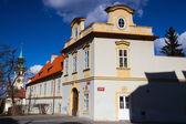 Loreta hotel and Prague pilgrim place Loreta — Stock Photo