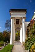 Architecture in Paradise Garden near the Prague Castle. — Stock Photo
