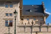 The famous Schwarzenberg Palace  near the Prague Castle — Stock Photo