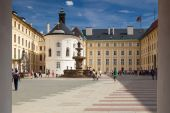 The Second Courtyard of Prague Castle. — Stock Photo