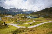 从奥地利 Obertauern 滑雪胜地夏日风景 — 图库照片