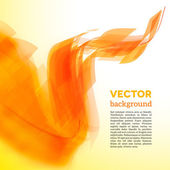 Vector spiral card with blurred edge — Cтоковый вектор