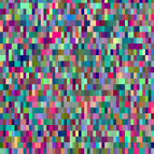Colorful pattern with chaotic pixels — Stock Vector