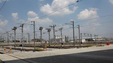 Metra nádraží — Stock video