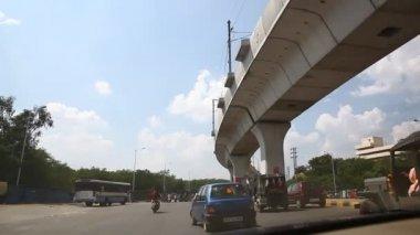 Metro Train Bridge — Stock Video