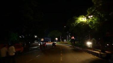 Lord Ganesha Statue At Hyderabad India — Stock Video