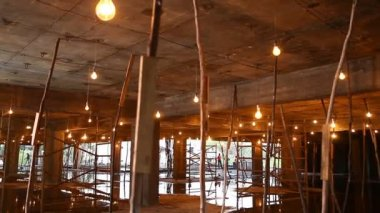 Interior del edificio — Vídeo de Stock