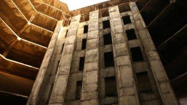Zewnątrz strzał budynku — Wideo stockowe